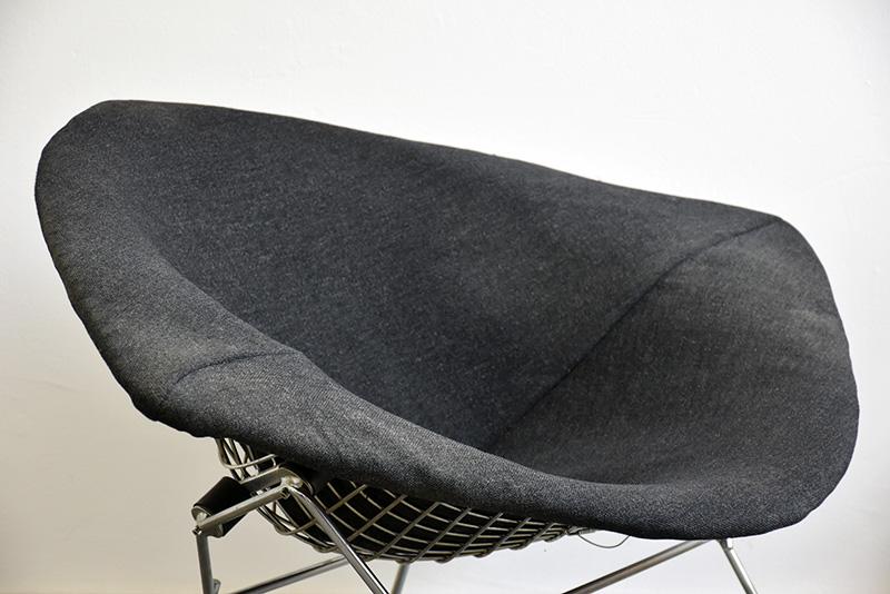 bertoia fauteuil grand diamant knoll vintage lausanne suisse. Black Bedroom Furniture Sets. Home Design Ideas