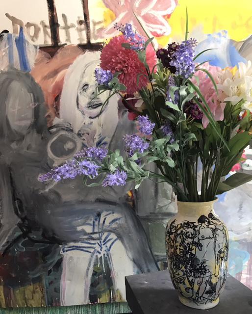Vase en porcelaine, Martin Hyde, 2017