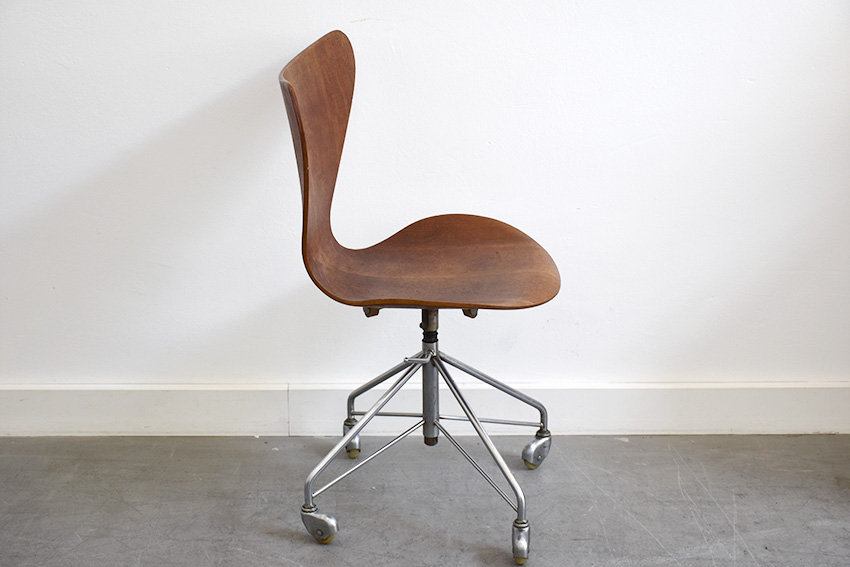 Office Chair Serie 7 Erfly Teak Arne Jacobsen For Fritz Hansen