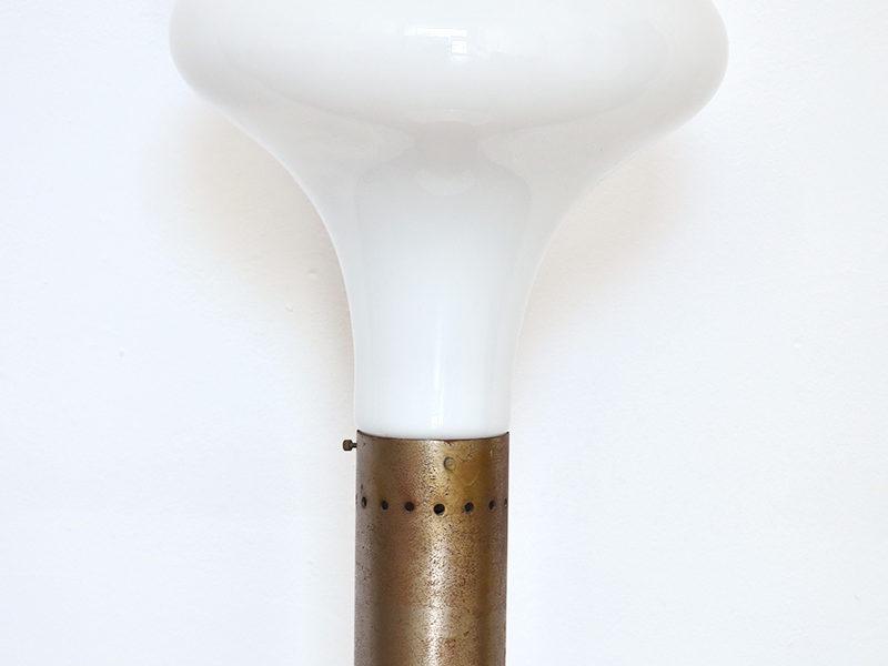 Stehlampe aus Muranoglas, Design Carlo Nason, Mazzega