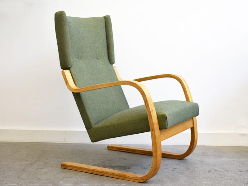 Armchair mod. 36 / 401, Alvar Aalto, Wohnbedarf, 1937