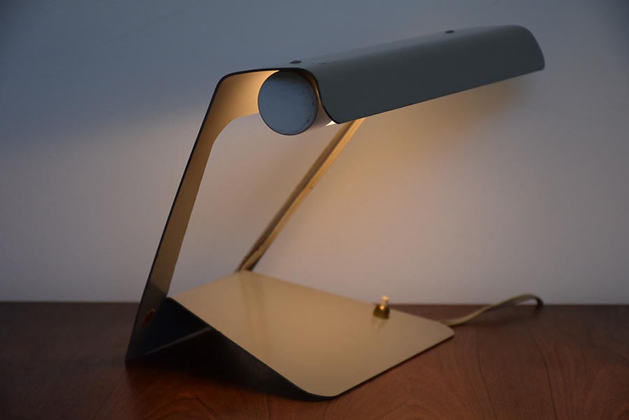 Charlotte Perriand Table Lamp Philips Vintage Design Switzerland