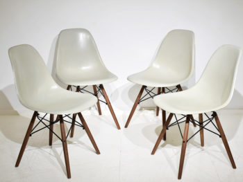 Chaises DSW vintage, Charles & Ray Eames, Herman Miller / Vitra