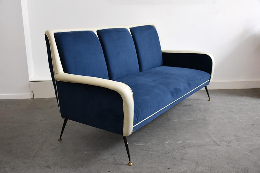 Sofa Italienisches Design 50er jahre sofa gio ponti stil lausanne schweiz