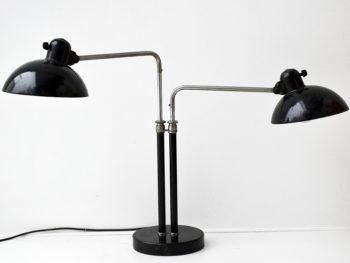 Lampe à 2 bras 6580, Christian Dell, Kaiser Idell, 1930