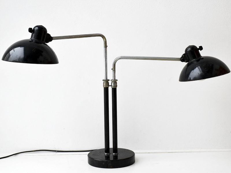 Doppelarmige Lampe 6580, Christian Dell, Kaiser Idell, 1930.