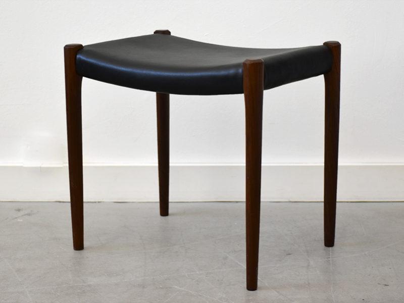 Rosewood stool 80A,Niels O. Møller,J.L. Moller