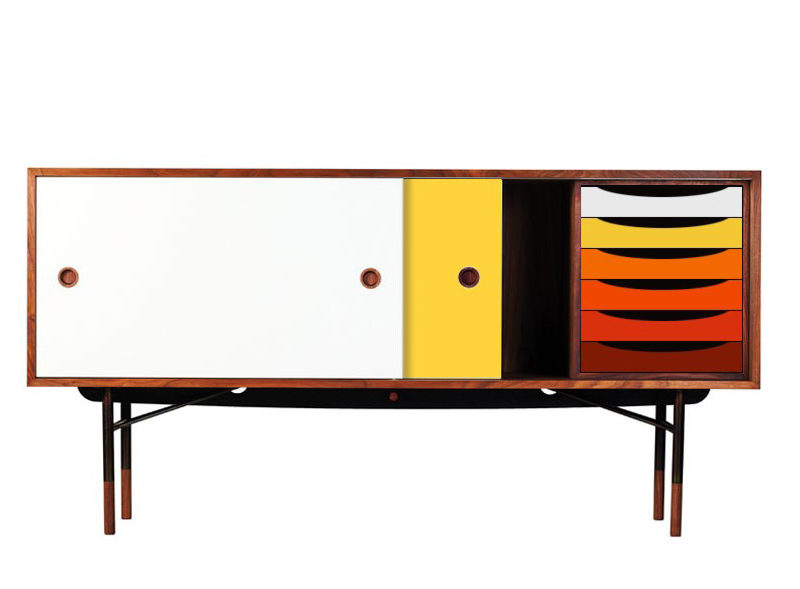 FJ5500 sideboard, Finn Juhl, Onecollection