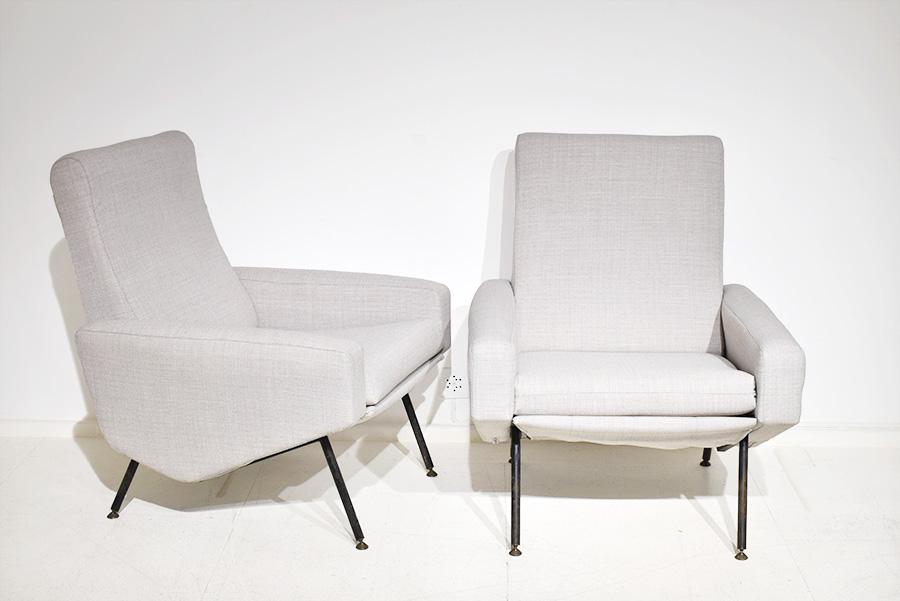 fauteuils troika pierre guariche airborne lausanne suisse. Black Bedroom Furniture Sets. Home Design Ideas