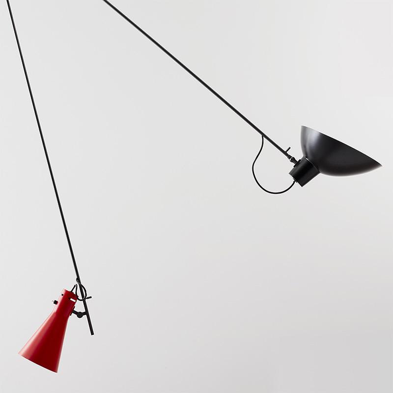 VV Cinquanta Suspension, Vittoriano Viganó, Astep. Noir et rouge