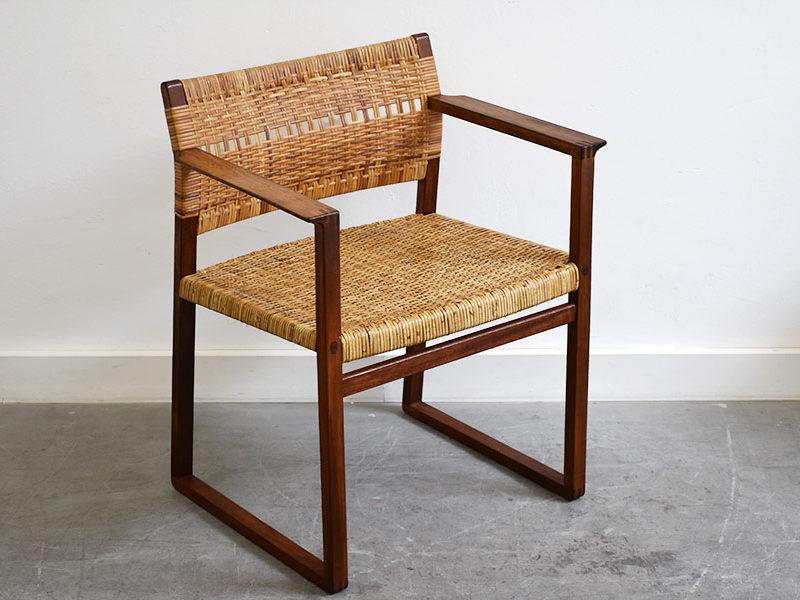 BM62 chair, Børge Mogensen, P. Lauritsen & Søn, Aalstrup, 1957