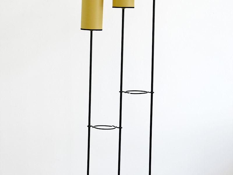 Stehleuchte 3 Arme, in der Art von Jean Royère