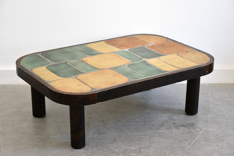 Shogun table, Roger Capron, Vallauris