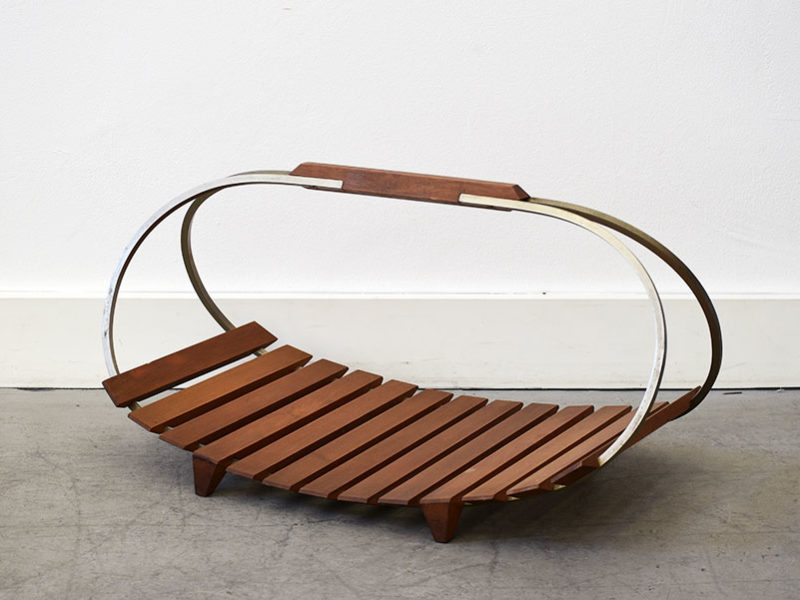 Magazine rack, Ico Parisi, Stildomus