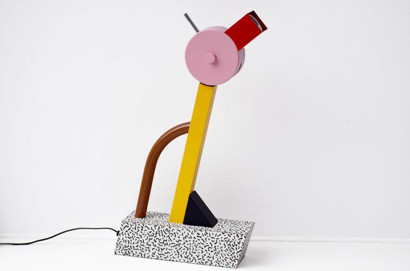 Lampe Tahiti, Ettore Sottsass, Memphis Milano, 1981l