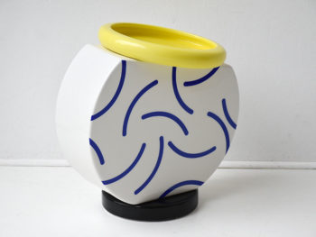 Vase Cucumber, Martine Bedin, Memphis Milano, 1985