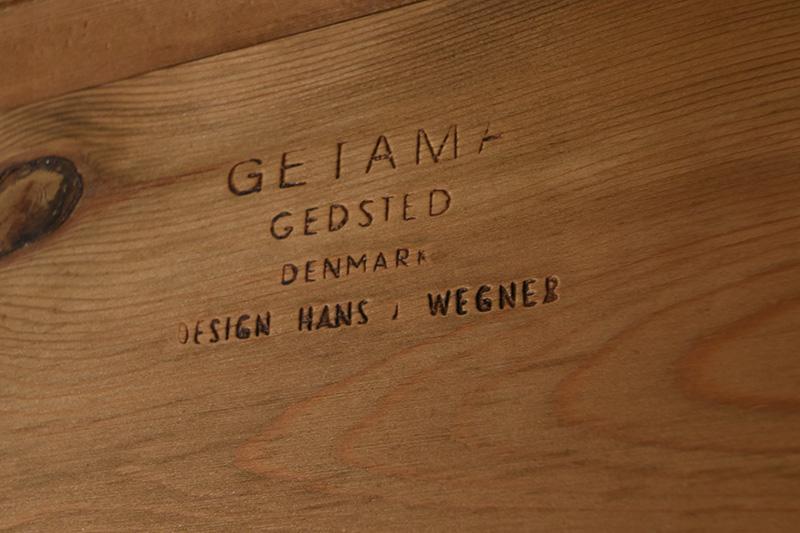 GE-258, Getama, Hans Wegner