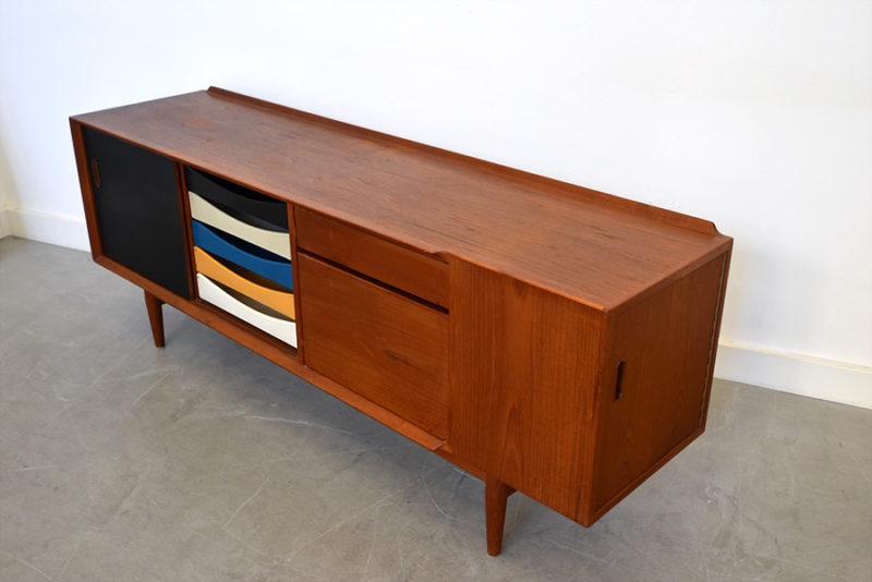 Arne Vodder, teak sideboard for Sibast