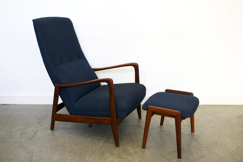 Gio Ponti, fauteuil 829, Parco dei Principi, Cassina