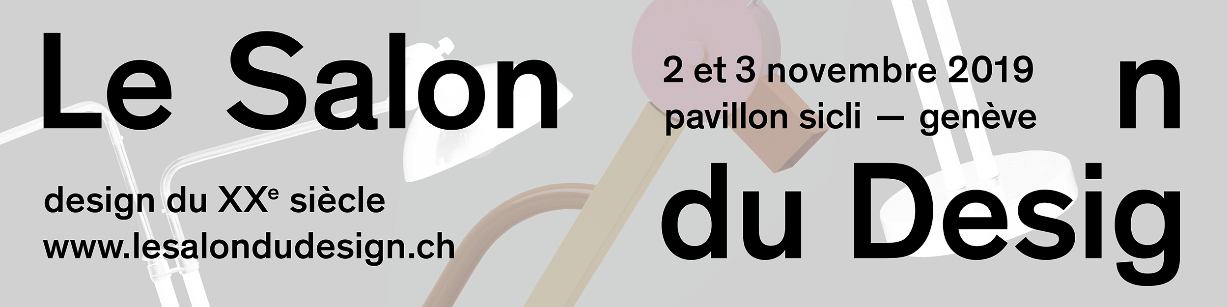 Le Salon du Design. Genève. 2-3 novembre 2019