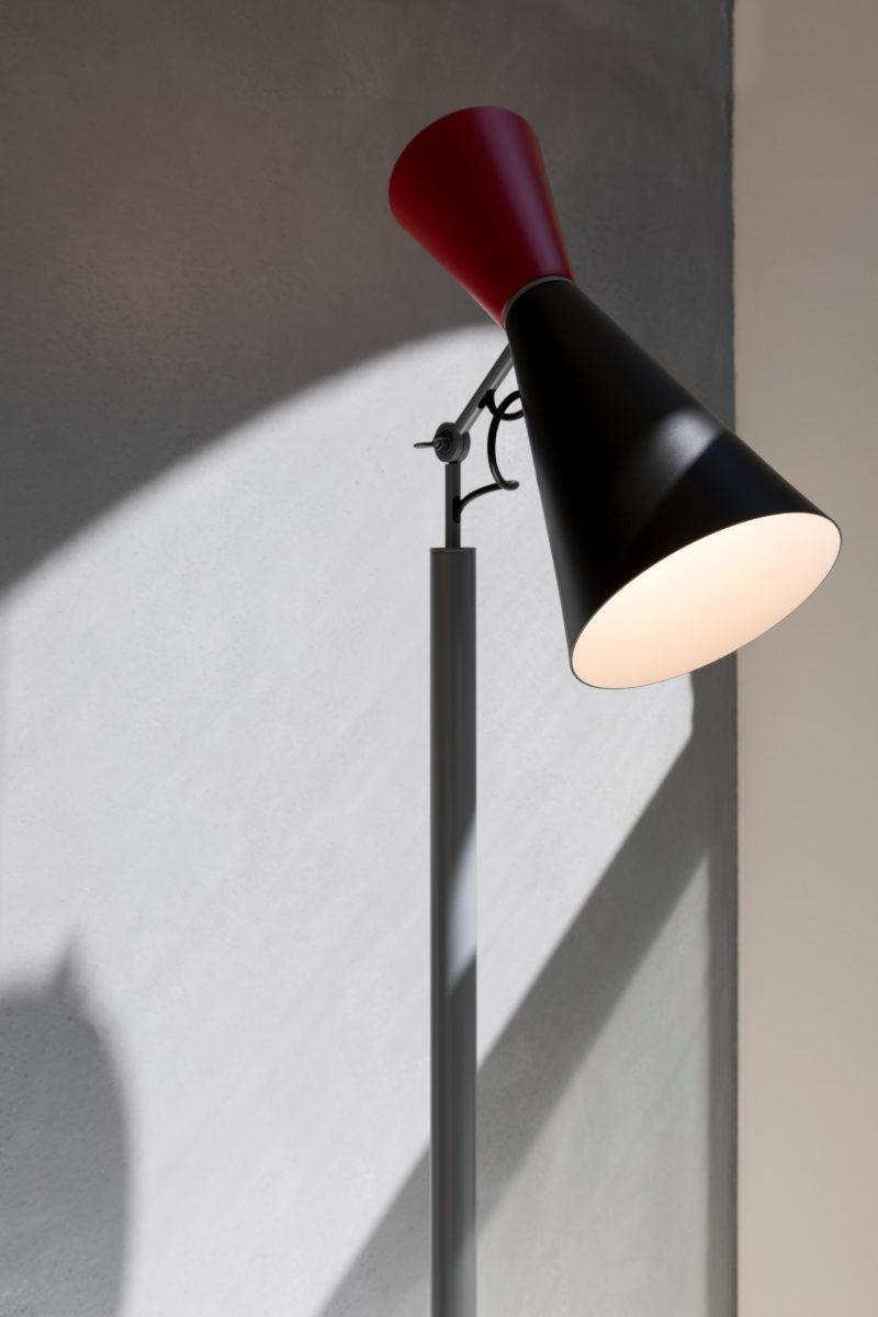 Stehlampe Parliament, Le Corbusier, Nemo