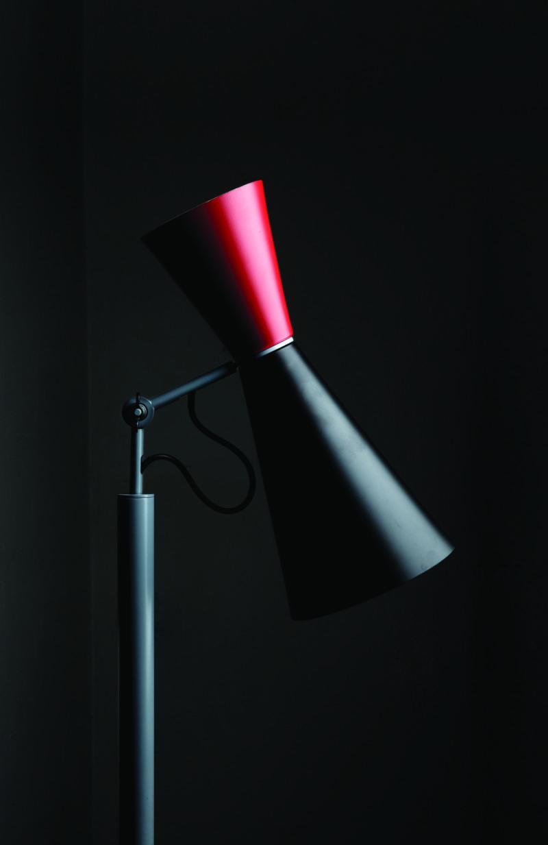 Parliament floor lamp, Le Corbusier, Nemo